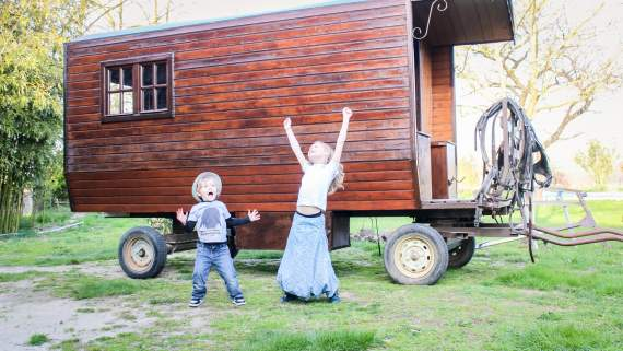 Gypsy-style caravanning in the Cathar Country