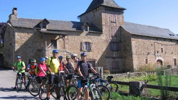 Guided bike tour on the Way of St. James