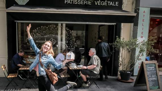 Vegan travels in Paris