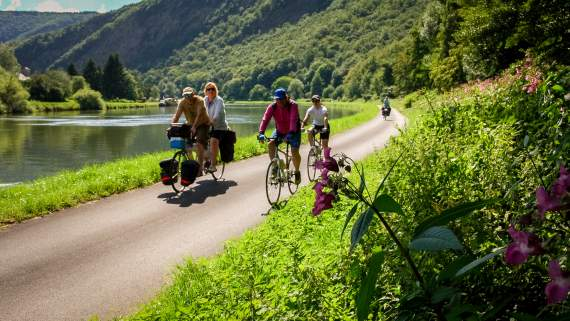 Greenways & cycle routes in France