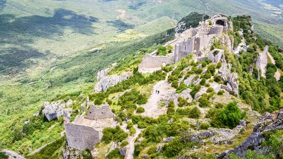 Hiking in the Cathar Country