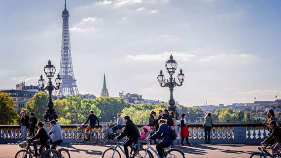 Paris à vélo - Paris by bike