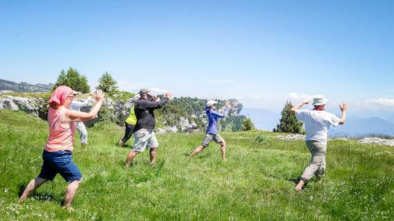 Qigong & exploring the Alps