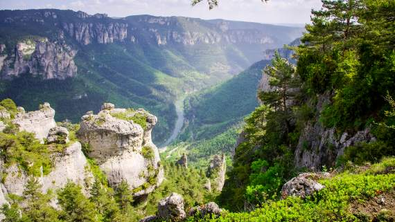 Causses and Cevennes, hiking through the gorges