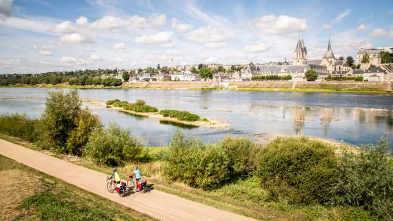 Self-guided bike tour in the Loire Valley
