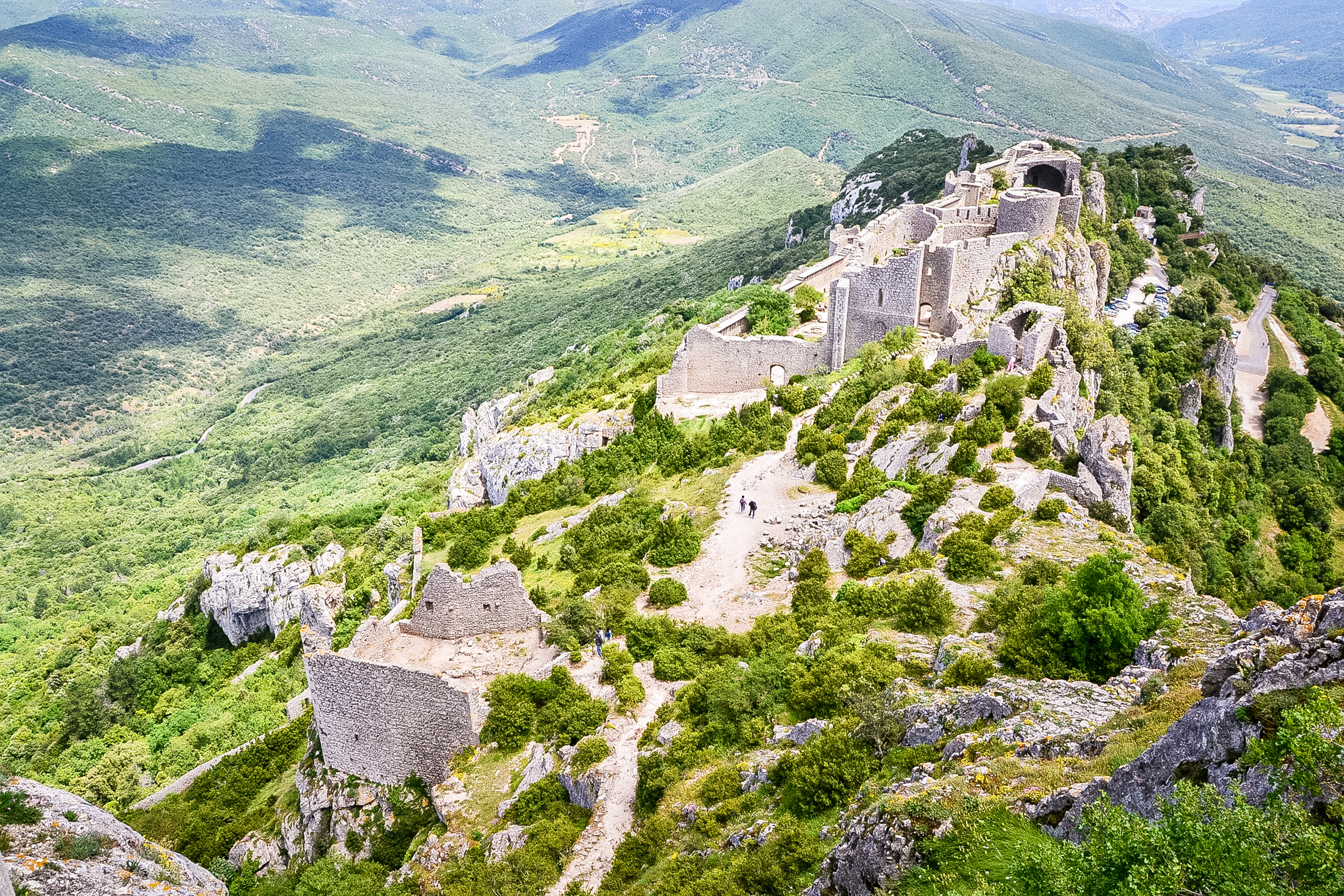 20 day hike or more from Quillan to Port la Nouvelle